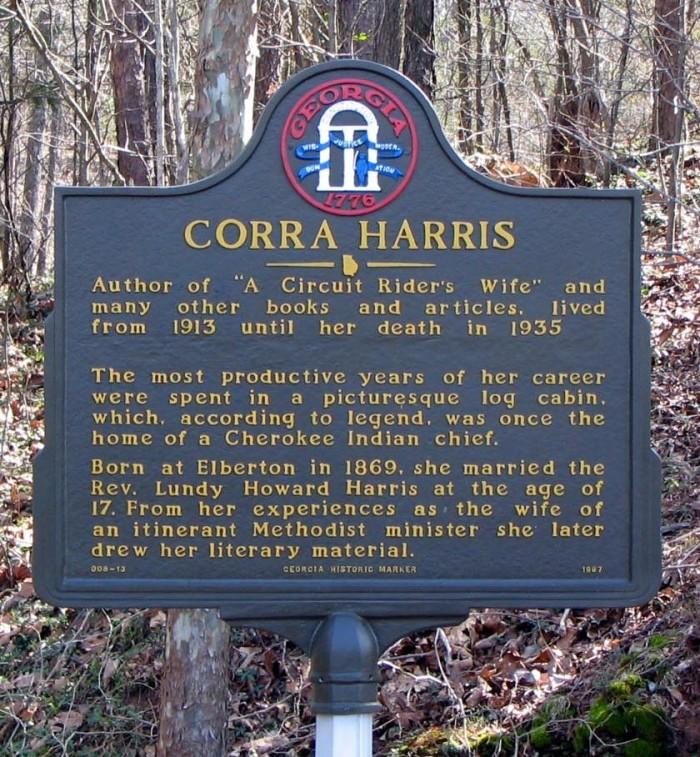 Corra Harris Marker