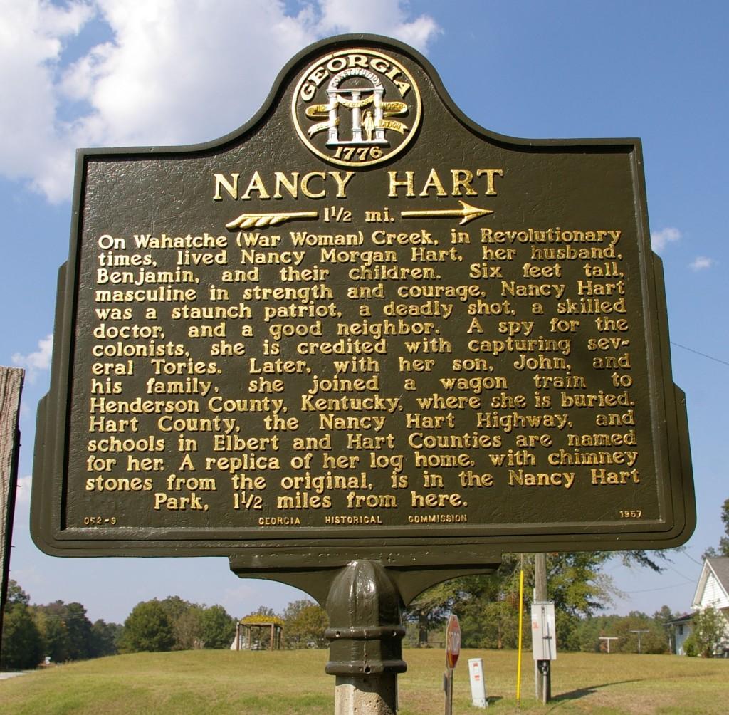 Nancy Hart Marker