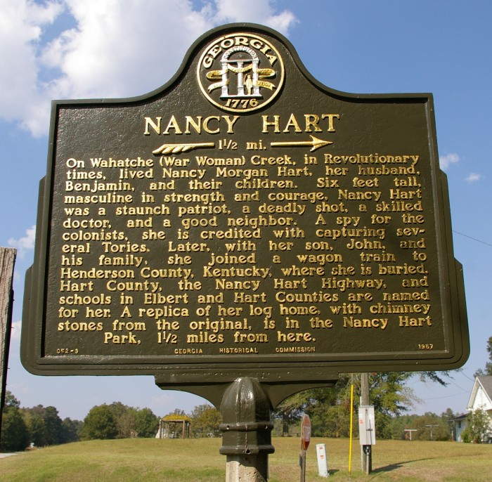 Nancy Hart Marker