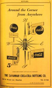 Savannah Bottling Co Ad