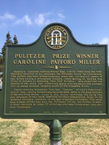 Pulitzer Prize Winner Caroline Pafford Miller