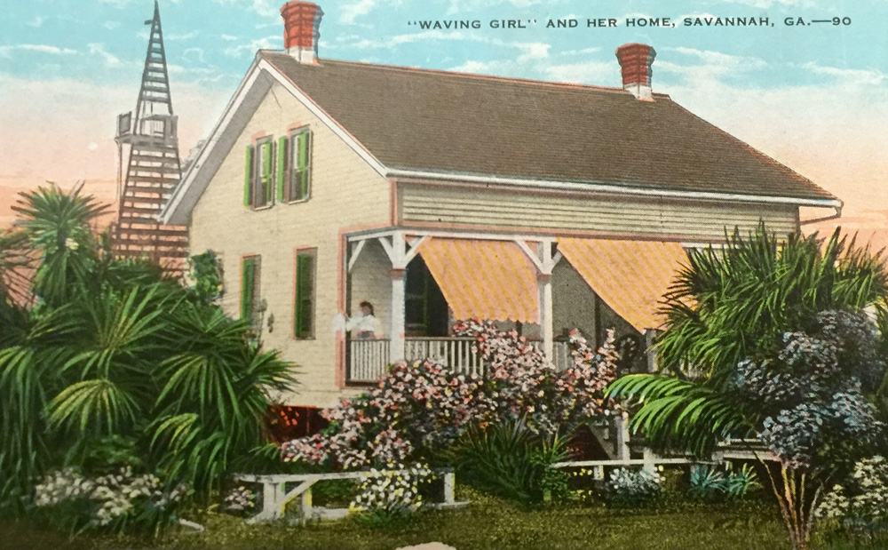 The Waving Girl – Georgia Historical Society