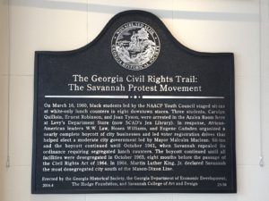 Savannah Protest Movement