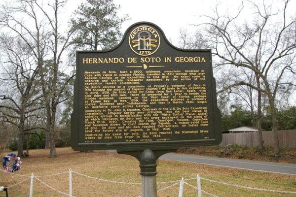 Hernando de Soto in Georgia