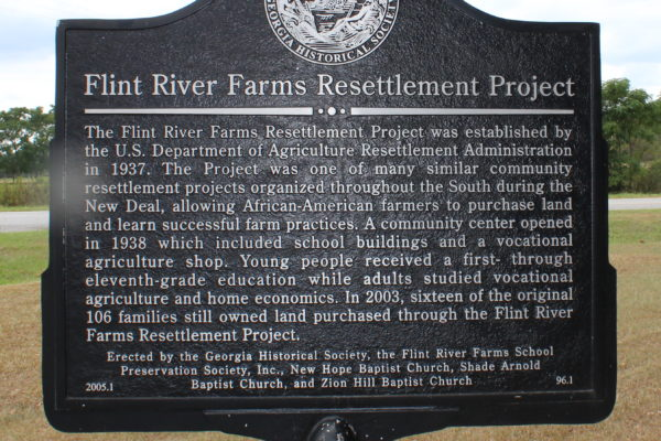 Flint River Farms Resettlement Project
