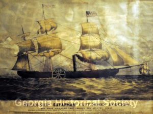 The Steam Ship Savannah