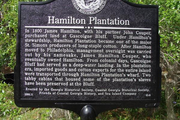 Hamilton Plantation - Georgia Historical Society