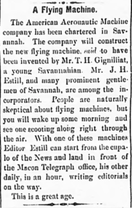 From the Daily Times-Enterprise, February 20, 1892