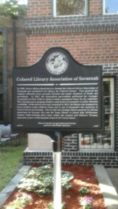 Colored Library Association of Savannah