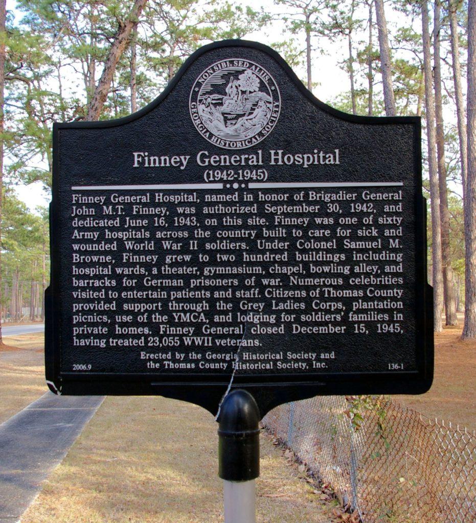 Finney General Hospital Marker