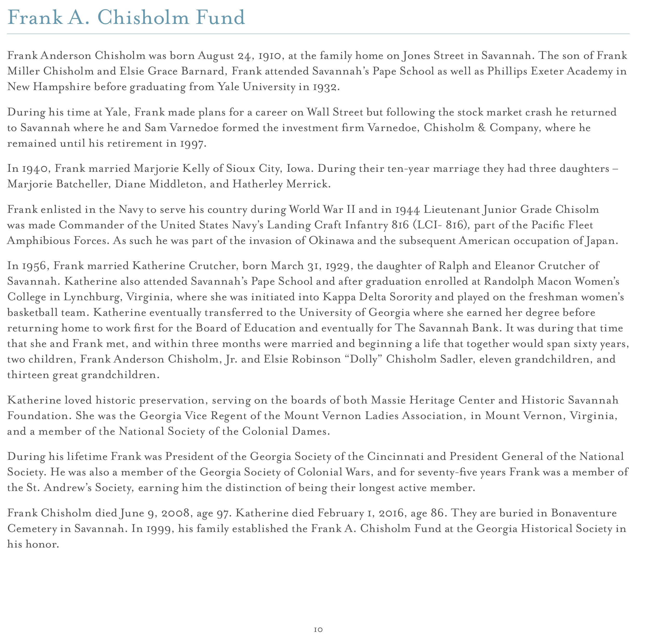 Endowment Campaign – Georgia Historical Society