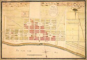 Plan of Savannah, 1796