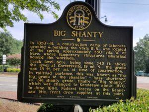 Big Shanty Marker