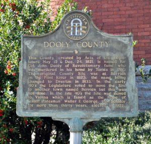 Dooly County Marker