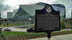 Georgia Dome Marker