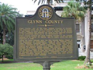 Glynn County Marker