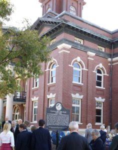 Governor Ellis Gibbs Arnall historical marker