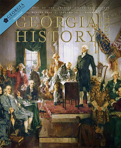 Georgia History Today Volume 12 No. 2