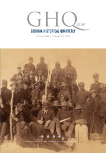 Georgia Historical Quarterly