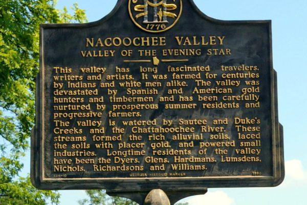 Nacoochee Valley Marker