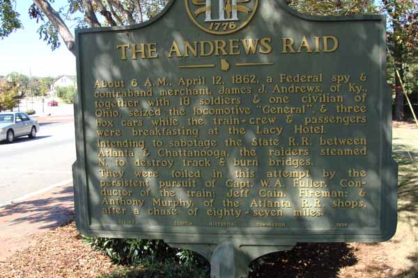 The Andrews Raid