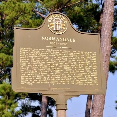 Normandale Historical Marker