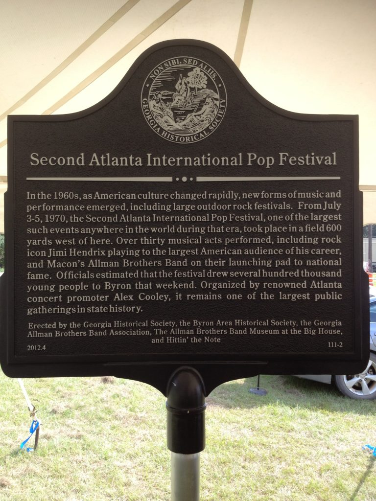 2nd ATL Intl Pop Fest marker