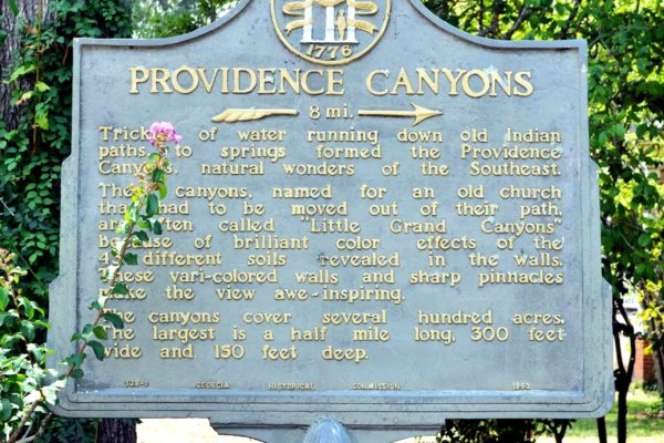 Providence Canyons