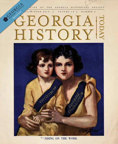 Georgia History Today Volume 13 No. 2