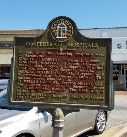 Confederate Hospitals (Lamar County) - Georgia Historical ...